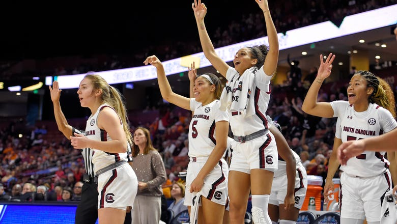No. 1 South Carolina women beat Georgia in SEC quarterfinals