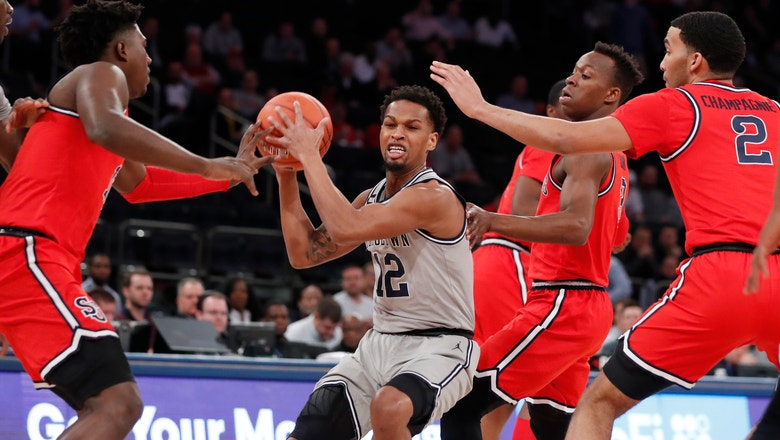 St. John's grabs momentum to down Georgetown