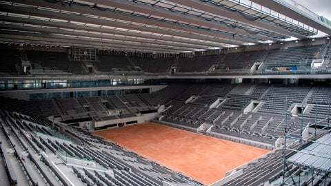 <p>               FILE - In this Feb. 5, 2020, file photo, construction work of the newly built roof of the Philippe Chatrier center court is pictured at Roland Garros stadium in Paris. The French Open has been postponed because of the coronavirus. The French Tennis Federation announced Tuesday, March 17, 2020, that the clay-court event will run from Sept. 20 to Oct. 4. Main draw competition was supposed to start on May 24. (Martin Bureau/Pool via AP, File)             </p>