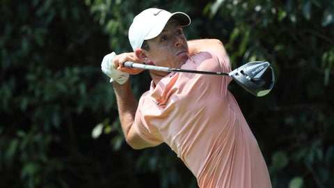 <p>               Rory McIlroy of Northern Ireland follows his tee off at the second during the final round for the WGC-Mexico Championship golf tournament, at the Chapultepec Golf Club in Mexico City, Sunday, Feb. 23, 2020.(AP Photo/Fernando Llano)             </p>