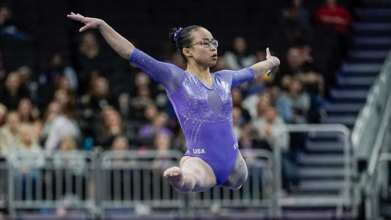 Hurd wins women's all-around at American Cup gymnastics