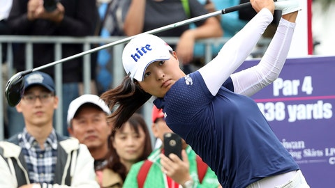 <p>               FILE - In this Oct. 31, 2019, file photo, Jin Young Ko of South Korea watches her tee shot on the first hole during the first round of the Taiwan Swinging Skirts LPGA tournament at the Miramar Golf Country Club in New Taipei City, Taiwan. Ko figures to be plenty rested whenever the LPGA Tour resumes. Ko left the CME Group Tour Championship in Naples, Florida, on Nov. 24 as the No. 1 player in women's golf, capping off her four-win, two-major season as the LPGA player of the year and winner of the Vare Trophy for lowest scoring average. The plan was to return for the Asia swing in mid-February and work her way into the season. She's still waiting. (AP Photo/Chiang Ying-ying, File)             </p>