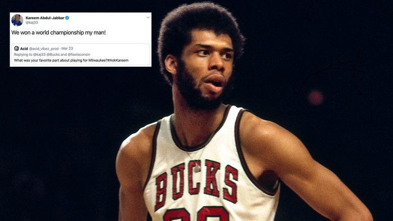 Top Tweets: Bucks legend Kareem Abdul-Jabbar live tweets throwback game