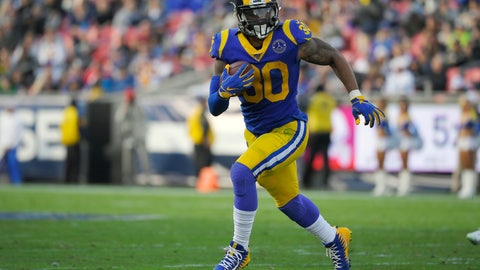 <p>               FILE - In this Dec. 29, 2019, file photo, Los Angeles Rams running back Todd Gurley runs a play during the first half of an NFL football game against the Arizona Cardinals, in Los Angeles. The Atlanta Falcons have agreed to a one-year deal with three-time Pro Bowl running back Todd Gurley, one day after he was cut by the Los Angeles Rams. A person familiar with the deal told The Associated Press about the agreement on Friday, March 20, 2020, on condition of anonymity because the deal will not be official until Gurley passes a physical. (AP Photo/Mark J. Terrill, File)             </p>