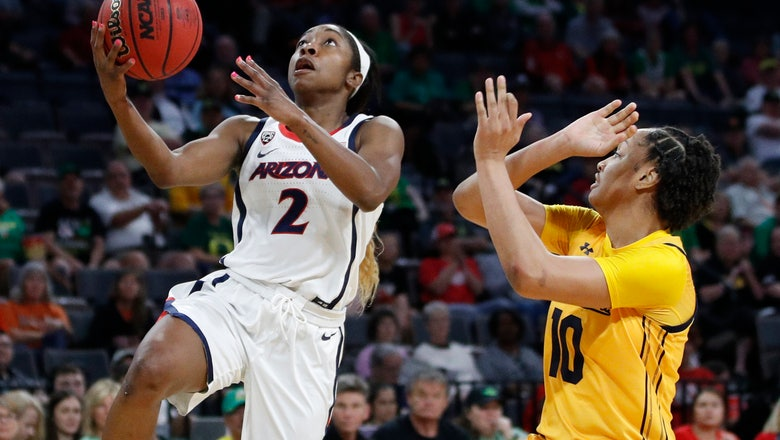 Reese nets 30, No. 13 Arizona women drop Cal 86-73