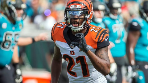 """<p>               FILE - In this Nov. 5, 2017, file photo, Cincinnati Bengals cornerback Darqueze Dennard (21) calls a formation to the defensive backs during the first half of an NFL football game against the Jacksonville Jaguars in Jacksonville, Fla. The Jacksonville Jaguars and Dennard have parted ways nine days after agreeing to a three-year, $13.5 million contract in free agency. The Jaguars said Thursday, March 26, 2020, """"the two sides could not come to an agreement on the final contract terms. (AP Photo/Stephen B. Morton, File)             </p>"""