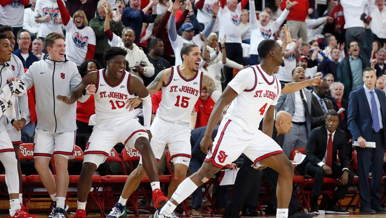 St. John's blows past No. 10 Creighton with 3-point barrage