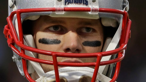 "<p>               FILE - In this Feb. 4, 2018, file photo, New England Patriots quarterback Tom Brady warms up before the NFL Super Bowl 52 football game against the Philadelphia Eagles in Minneapolis. Brady, the centerpiece of the New England Patriots' championship dynasty over the past two decades, appears poised to leave the only football home he has ever had. The 42-year-old six-time Super Bowl winner posted Tuesday, March 17, 2020, on social media ""my football journey will take place elsewhere."" The comments were the first to indicate the most-decorated player in NFL history would leave New England. (AP Photo/Matt Slocum, File)             </p>"