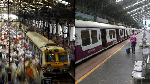 <p>               This combination photo made of two images shows a crowd on a normal day at Church Gate railway station on Feb. 11, 2013, left, and the same station seen deserted on Sunday, March 22, 2020 in Mumbai, India. As India expanded its virus-containment measures and halted its train network, the country's lifeblood, the federal government warned Monday, March 23, 2020, of strict legal action for those who flout the rules. For most people, the new coronavirus causes only mild or moderate symptoms. For some it can cause more severe illness. (AP Photo/Rafiq Maqbool)             </p>