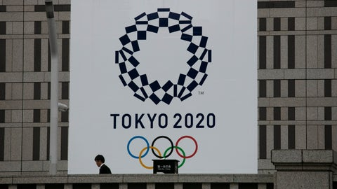 <p>               A man walks past a large banner promoting the Tokyo 2020 Olympics in Tokyo, Monday, March 23, 2020. The IOC will take up to four weeks to consider postponing the Tokyo Olympics amid mounting criticism of its handling of the coronavirus crisis that now includes Canada saying it won't send a team to the games this year and the leader of track and field, the biggest sport at the games, also calling for a delay. (AP Photo/Jae C. Hong)             </p>