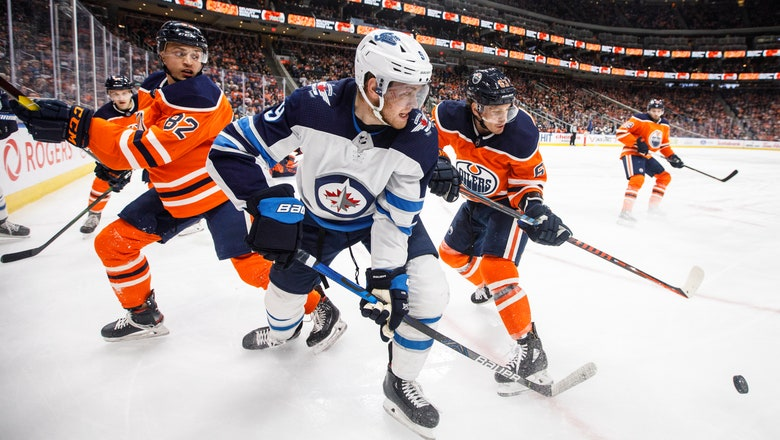 Kyle Connor scores twice in 3rd period, Jets beat Oilers 4-2