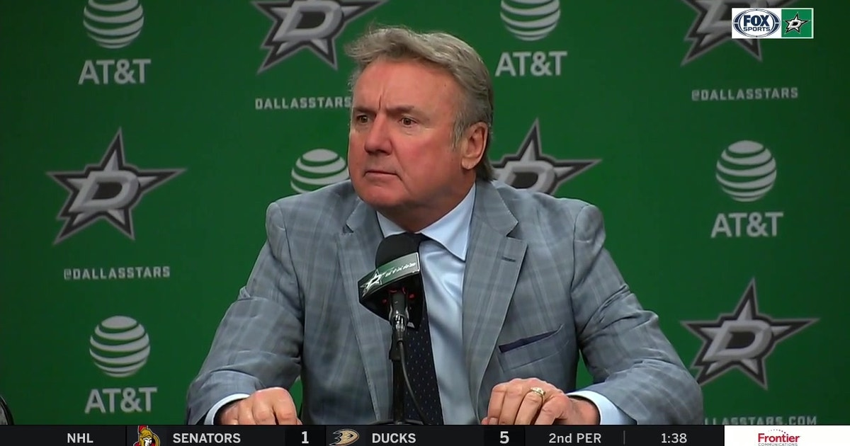 Rick Bowness on the Lack of Urgency in Stars Loss to Rangers (VIDEO)