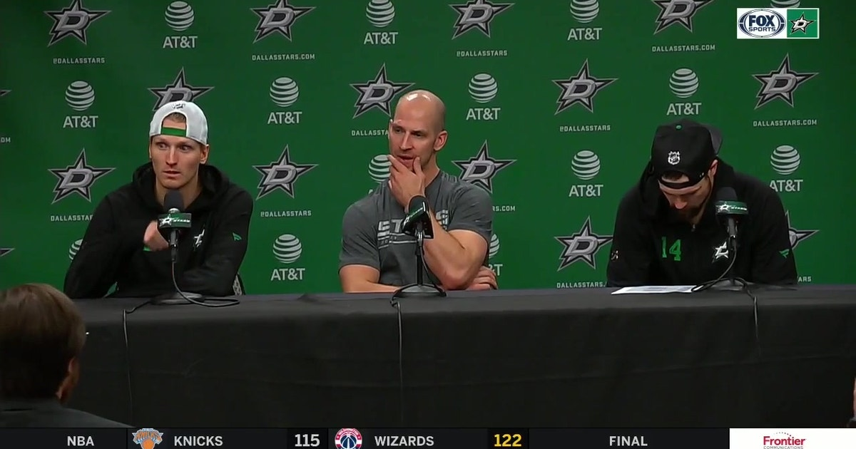Comeau, Benn and Klingberg Speak with the Media following loss (VIDEO)