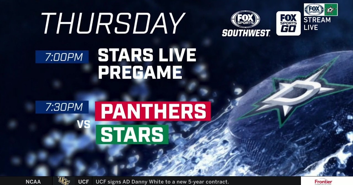 LOOK AHEAD: Panthers at Stars | Stars Live (VIDEO)