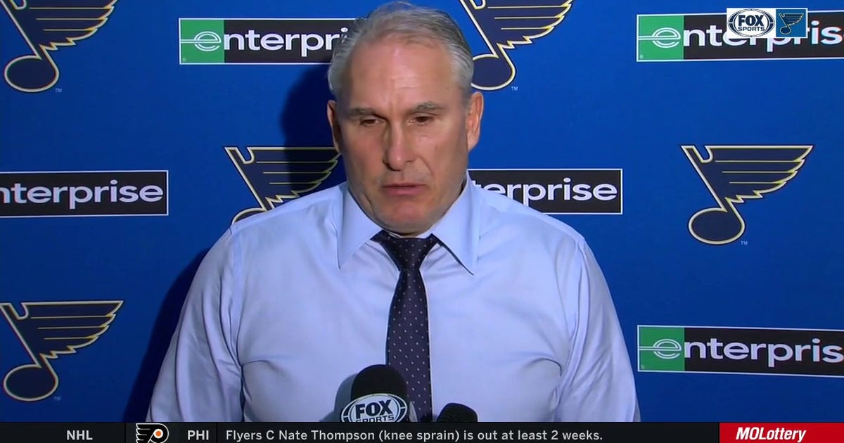 Berube: 'I don't think [emotions] affected our team in a negative way tonight' (VIDEO)