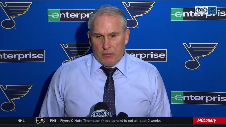 Berube: 'I don't think [emotions] affected our team in a negative way tonight'