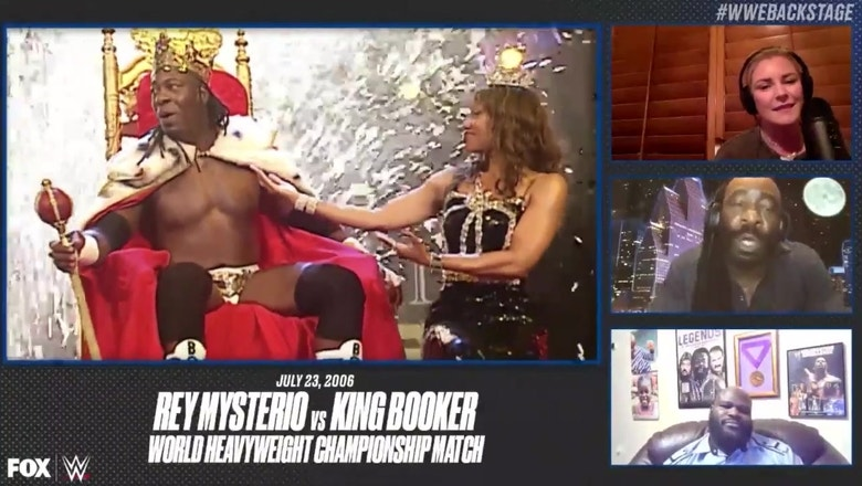 Booker T relives the moment he won the World Heavyweight championship against Rey Mysterio