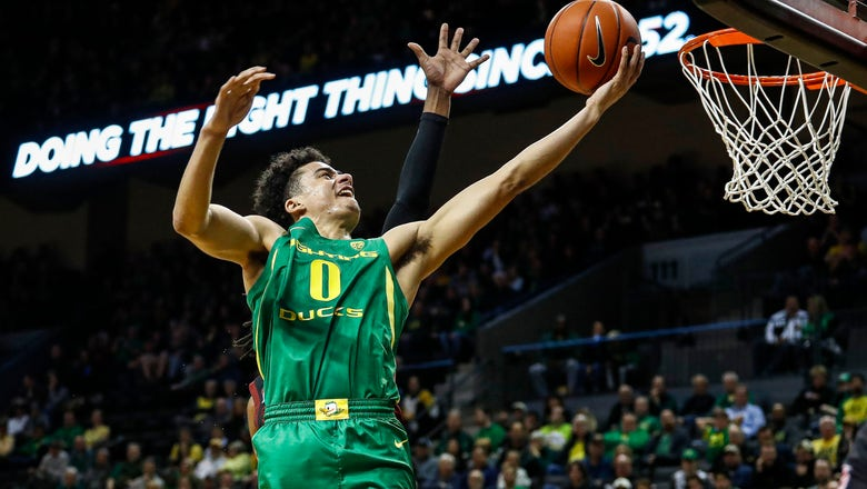 No. 13 Oregon claims Pac-12 with 80-67 win over Stanford