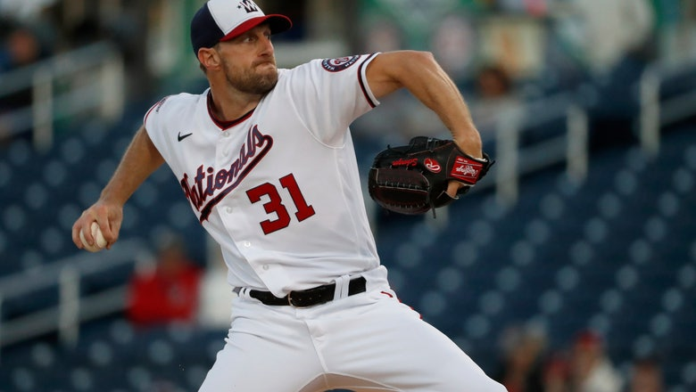 Back on mound, Nats' Scherzer pleased with bullpen session