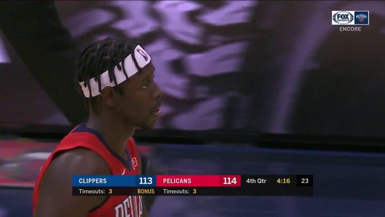 WATCH: Jrue Holiday puts Pelicans ahead vs. the Clippers | Pelicans ENCORE