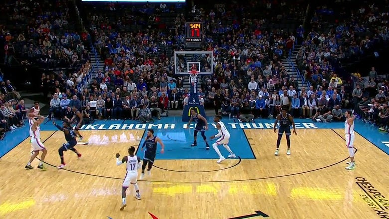 WATCH: Thunder dunking on Grizzlies | Thunder ENCORE