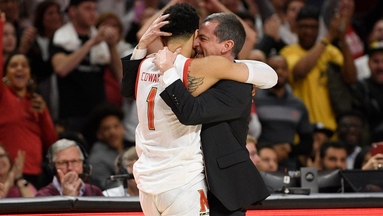 No. 9 Maryland tops No. 25 Michigan for 3-way title share