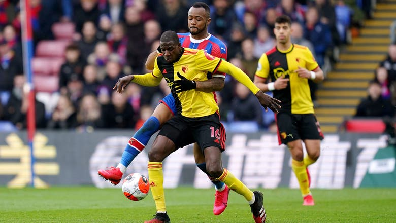 Ayew goal guides Palace to 1-0 win over Watford in EPL