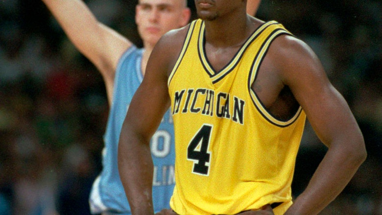 Webber's TO vs Tar Heels among iconic March Madness moments