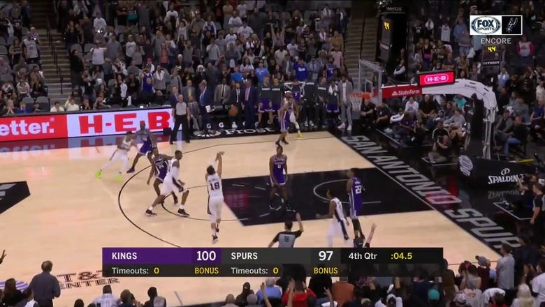WATCH: Marco Belinelli Forces Overtime with a 3-Pointer | Spurs ENCORE