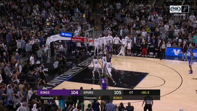 WATCH: Spurs defeat the Sacramento Kings 105-104 in OT | Spurs ENCORE