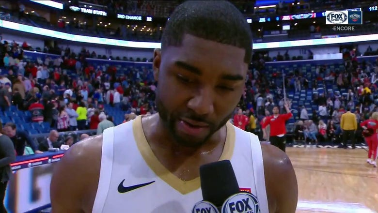 E'Twaun Moore talks the New Orleans win vs. Houston   Pelicans ENCORE