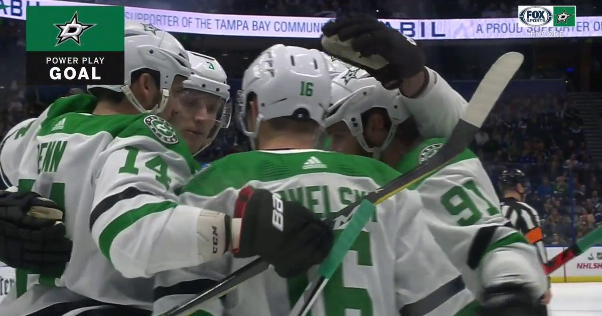 WATCH: Goal Celebrations from Dallas' 4-3 OT win on 12.19.2019 vs. Lightning | Stars ENCORE (VIDEO)
