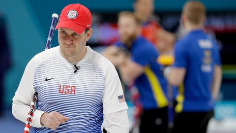 "<p>               FILE - In this Feb. 16, 2018, file photo, United States's skip John Shuster looks on during a men's curling match against Sweden at the Winter Olympics in Gangneung, South Korea. Curling is a 500-year-old sport that pairs chess-like strategy with furious sweeping and shouts of ""Hurry Hard,"" and is considering radical rule changes as it tries to balance centuries of tradition with the modern need to move things along. (AP Photo/Natacha Pisarenko, File)             </p>"