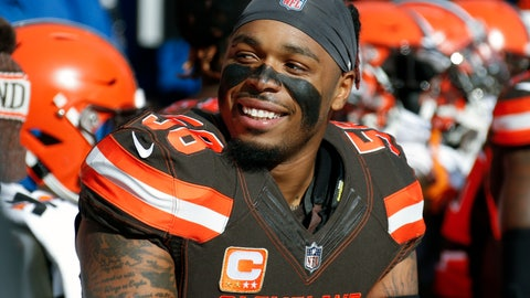 <p>               FILE - In this Nov. 4, 2018, file photo, then-Cleveland Browns linebacker Christian Kirksey (58) sits on the bench before an NFL football game against the Kansas City Chiefs, Sunday, Nov. 4, 2018, in Cleveland. Linebacker Christian Kirksey has agreed to terms on a deal with the Green Bay Packers less than a week after the Cleveland Browns released him. Kirksey's agent, Brian Mackler, confirmed that Kirksey would be signing with the Packers but didn't disclose terms. (AP Photo/Ron Schwane, File)             </p>