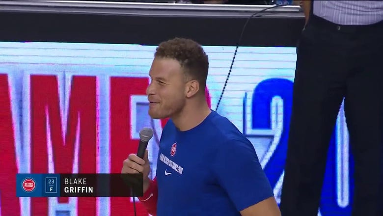 Luka Doncic and Blake Griffin Address the Crown in Mexico City   Mavs ENCORE