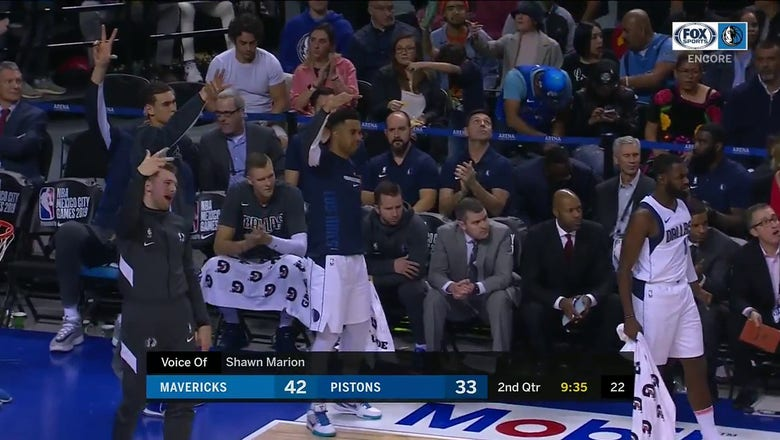 WATCH: Seth Curry Heats up from Behind the Arc | Mavs ENCORE