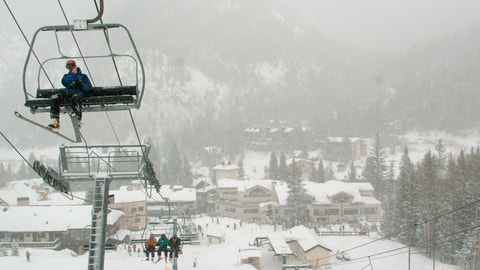 <p>               FILE - In this Feb. 21, 2008, file photo, skiers ride up Al's Run lift at the Taos Ski Valley, in Taos County, N.M. Some resorts are closing enclosed gondolas or aerial trams while others are encouraging skiers to ride lifts with only people they know as they adhere to social distancing guidelines. Nearly every resort is promising extra cleanings of public spaces, more hand sanitizer stations and vowing to follow guidelines from the Centers for Diesel Control and Prevention. Taos Ski Valley, has decided to close for the season early on March 22, 2020. (AP Photo/Albuquerque Journal, File)             </p>