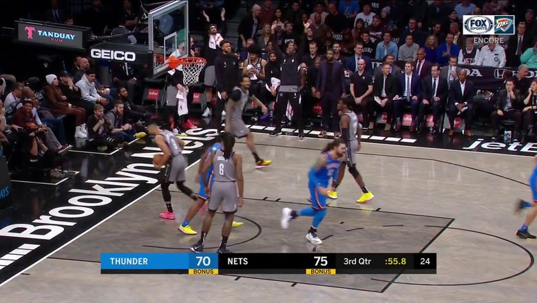WATCH: Abdel Nader makes the Transition Jumper | Thunder ENCORE