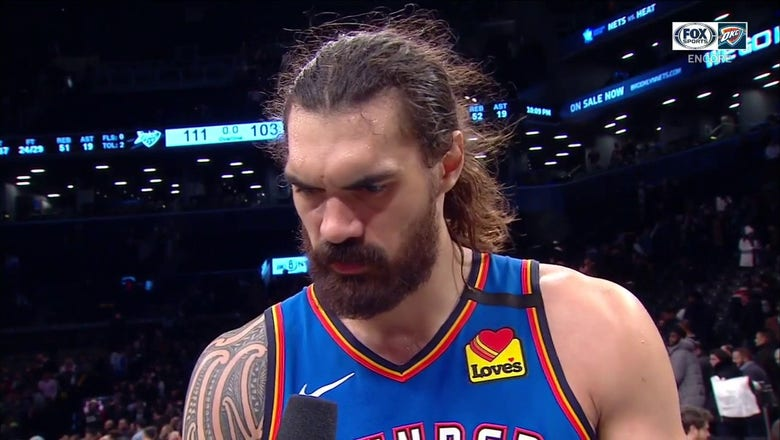 Steven Adams on the Thunder win over the Nets on Jan. 7 | Thunder ENCORE