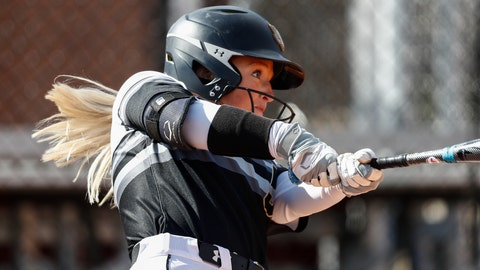 <p>               FILE - In this March 6, 2020, file photo, Purdue Fort Wayne's Rachel Everson connects for a hit during an NCAA softball game against UMass Lowell in Clarksville, Tenn. The NCAA Division I Council is scheduled Monday, March 30, 2020, to vote on providing another year of eligibility to spring sport athletes, such as baseball, softball and lacrosse players, who had their seasons wiped out by the coronavirus pandemic. (AP Photo/Wade Payne, File)             </p>