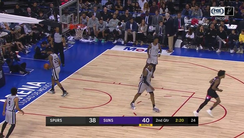 WATCH: Patty Mills Hits the Open 3-Pointer | Spurs ENCORE
