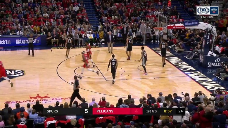 WATCH: Zion Williamson makes Perfect Pass to Ingram | Pelicans ENCORE