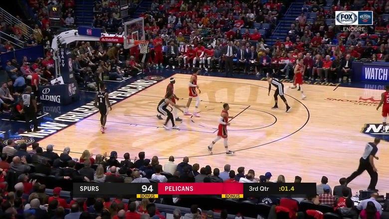 WATCHL Jaxson Hayes on the Finish | Pelicans ENCORE