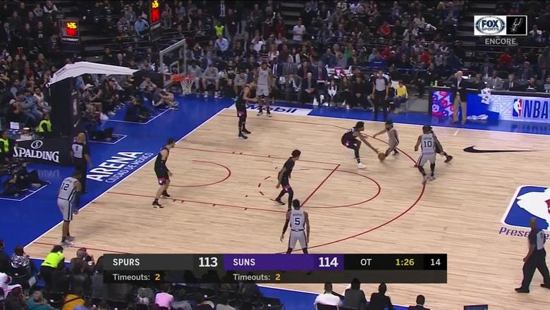 WATCH: Patty Mills for 3 For THE LEAD | Spurs ENCORE