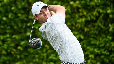 <p>               Rory McIlroy, of Northern Ireland, tees off on the ninth hole during the first round of the Arnold Palmer Invitational golf tournament, Thursday, March 5, 2020, in Orlando, Fla. (AP Photo/Phelan M. Ebenhack)             </p>
