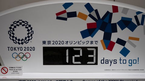 <p>               A countdown clock for the Tokyo 2020 Olympics is photographed in Tokyo, Monday, March 23, 2020. The IOC will take up to four weeks to consider postponing the Tokyo Olympics amid mounting criticism of its handling of the coronavirus crisis that now includes Canada saying it won't send a team to the games this year and the leader of track and field, the biggest sport at the games, also calling for a delay. (AP Photo/Jae C. Hong)             </p>