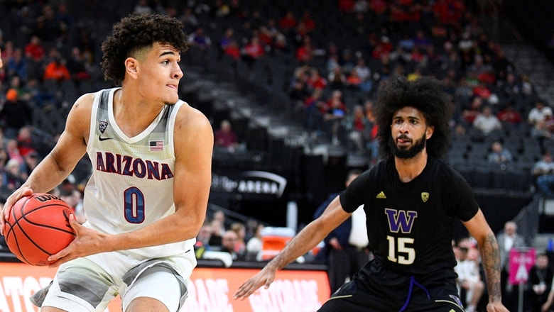 Nico Mannion and Arizona beat Washington 77-70 to advance in Pac-12 Tournament