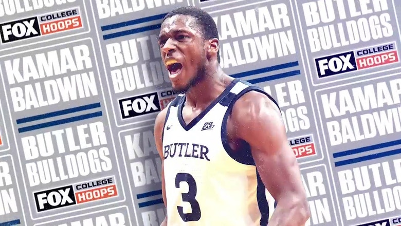 Butler senior guard Kamar Baldwin led the Bulldogs to a successful season in the Big East | FOX COLLEGE HOOPS