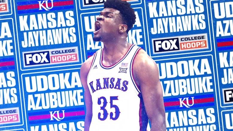 Kansas star Udoka Azubuike dominated during his shortened senior season   FOX COLLEGE HOOPS
