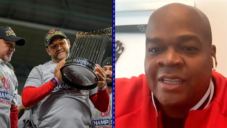 Frank Thomas: Nationals' repeat chances are higher after MLB's suspension of play